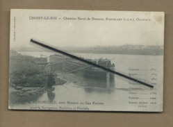 CPA Rétrécit  - Choisy Le Roi - Chantier  Naval De Desbois , Rancelant (I.C.F )  Ollivaud (bateau ,péniche Automobile  ) - Choisy Le Roi