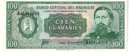 Paraguay P.205 100 Guarani 1982   Unc - Paraguay