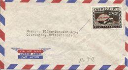 Ecuador, 1961, Cover To Switzerland, Galapagos Overprint, Single Franking, See Scans! - Ecuador
