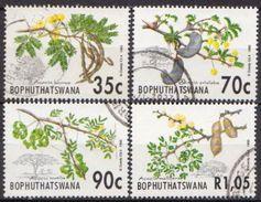 Bophuthatswana Used Set And SS - Fruit