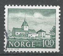 Norway 1978. Scott #715 (U) Austrat Manor, Manoir - Norvège