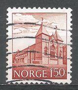 Norway 1981. Scott #772 (U) Stavanger Cathedral, Cathédrale - Norvège