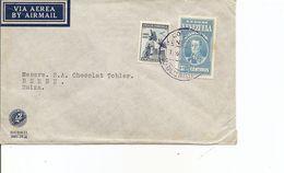 Venezuela, 1940,  Airmail Cover To Switzerland, Mi 295+, Mixed Franking, See Scans! - Venezuela