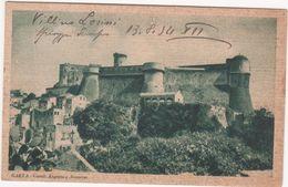 M111 GAETA LATINA CASTELLI ANGIOINO E ARAGONESE 1934 - Latina