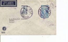 Venezuela, 1940,  Airmail Cover To Switzerland, Mi 241+, Mixed Franking, See Scans! - Venezuela