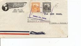 Venezuela, 1947, Airmail Cover To Switzerland, Mi 471+, Mixed Franking, See Scans! - Venezuela