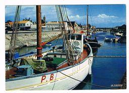 """NOIRMOUTIER  85    """" MARTROGER """"bateau A Reconnaitre . - Ile De Noirmoutier"""