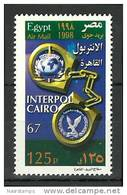 Egypt 1998 ( 67th Interpol Meeting, Cairo ) - MNH (**) - Politie En Rijkswacht