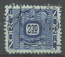 Norway 1987. Scott #876 (U) Fish - Norvège