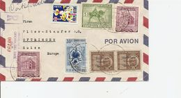 Venezuela, 1954, Registerted Airmail Cover To Switzerland, Mi 957, 1007+, Mixed Franking, See Scans! - Venezuela