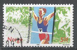 Norway 1989. Scott #937 (U) World Cross-Country Running Championships - Norvège
