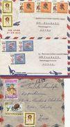 Venezuela, 1969,  3 Airmail Cover To Switzerland, , See Scans! - Venezuela