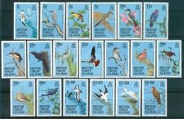 1995 British Virgin Island Ordinary Uccelli Birds Oieaux Set MNH** Fiog30 - British Virgin Islands