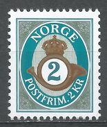 Norway 1992. Scott #961 (M) Post Horn - Norvège