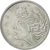 Brésil, 5 Centavos, 1976, TTB+, Stainless Steel, KM:587.1 - Brazil