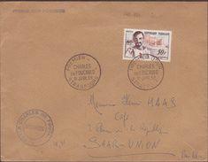 ENVELOPPE TIMBRE   1959 CHARLES DE FOUCAUD STRABOURG ) VOIR PHOTO - FDC