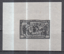 Argentina, 1910 Revolution, Proof In Black Color, Rare - Argentinien
