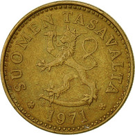 Finlande, 10 Pennia, 1971, TTB, Aluminum-Bronze, KM:46 - Finland