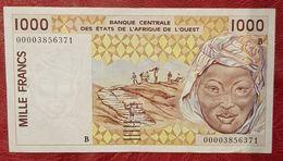 1000 Francs Banque Centrale Des états De L'Afrique De L'Ouest ( Peu Circulé ) - West African States