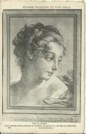 Estampes Françaises Du XVIII Siecle - Tete De Femme - De L.M.Bonnet D´apres Boucher - 2 Scans - Peintures & Tableaux