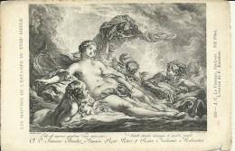 Maitres De L´Estampe Du XVIII Siecle - J.C. Le Vasseur - Seulpsit -L´Oeuvre De F. Boucher - 2 Scans - Pintura & Cuadros