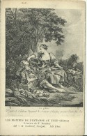 Maitres De L´Estampe Du XVIII Siecle -R. Gaillard - L´oeuvre De F. Boucher - Les Sabots - 2 Scans - Pintura & Cuadros