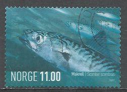 Norway 2007. Scott #1514 (U) Scomber Scombrus, Fish, Poisson - Oblitérés