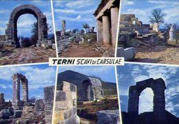 Terni - Scavi Di Carsulae - 302 - Formato Grande Viaggiata Mancante Di Affrancatura – E 4 - Terni