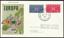 Ireland 1963 / Europa CEPT / FDC - 1963