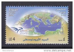 Egypt - 2014 ( EUROMED Postal ) - MNH (**) - Nuovi