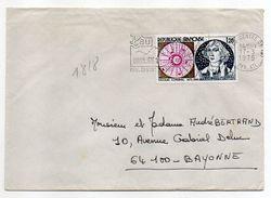 """1975 -- Tp  """" Copernic  """"  N° 1818  Seul Sur Lettre --- Cachet  PAU--64 - 1961-...."""
