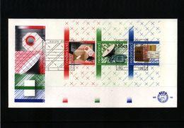Netherlands 1981 Post Interesting FDC - Post
