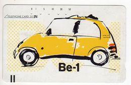 JAPON TELECARTE ANCIENNE NTT FRONTBAR BARCODE 110-20328 NISSAN Be-1 - Cars