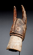 Nigéria, Mumuyé, Masque Cimier Représentant Un Buffle. - Art Africain