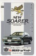 JAPON TELECARTE ANCIENNE NTT FRONTBAR BARCODE 110-16429 VOITURE SOARER - Cars