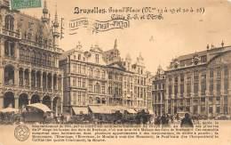 BRUXELLES - Grand'Place, Côté S.-E. Et N.-E. - Places, Squares