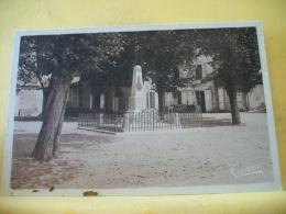 B15 3947 CPSM PM - 16 BORS-DE-MONTMOREAU - MONUMENT ELEVE AUX ENFANTS DE LA COMMUNE... (+ DE 20000 CARTES MOINS 1 EURO) - Autres Communes