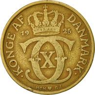 Danemark, Christian X, 2 Kroner, 1925, Copenhagen, TB+, Aluminum-Bronze - Denmark