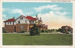 Nebraska Fremont Masonic Home Curteich - Fremont