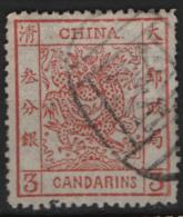 Cina Empire 3c. O/Used - Chine