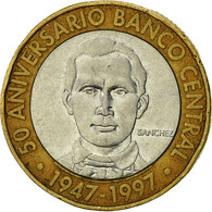 Dominican Republic, 5 Pesos, 1997, TB, Bi-Metallic, KM:88 - Dominicaine