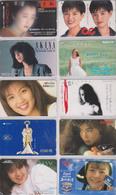 LOT De 50 Télécartes Privées Japon - FEMME - GIRL WOMAN Japan Private Phonecards - FRAU Telefonkarten - 3448 - Télécartes