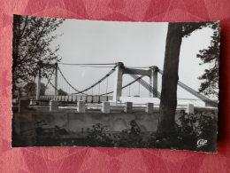 Dep 84 , Cpsm  Environs De PERTUIS , 72 , Le Nouveau Pont Suspendu Sur La Durance  (04.2105) - Pertuis