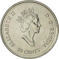 Canada, Elizabeth II, 25 Cents, 2000, Royal Canadian Mint, Ottawa, TTB+, Nickel - Canada