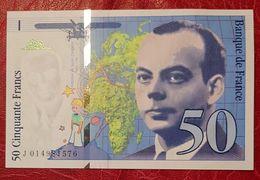 50 Francs Antoine De Saint Exupéry 1994 Neuf - 1992-2000 Last Series
