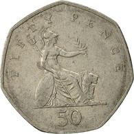 Grande-Bretagne, Elizabeth II, 50 Pence, 1997, TB+, Copper-nickel, KM:940.2 - 1971-… : Monnaies Décimales