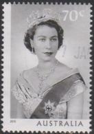 AUSTRALIA - USED 2015 70c Long May She Reign - Queen Elizabeth II - Portrait - 2010-... Elizabeth II