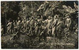 Real Photo  Sakay Tribe Ulu Jelebu Negri Sembilan . Topless Women . Nude - Malaysia