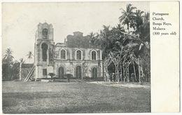 Malacca Bunga Raya Portuguese Church - Malaysia