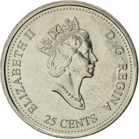 Canada, Elizabeth II, 25 Cents, 1999, Royal Canadian Mint, Ottawa, TTB+, Nickel - Canada